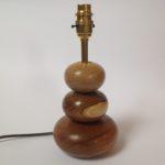 Oak & Laburnum Cobbles Lamp