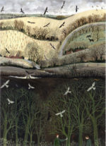 'Looking for Signs of Spring' Giclee Print