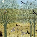 'Gathering Sticks' Giclee Print