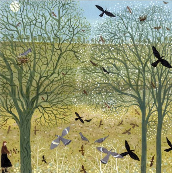 'Gathering Sticks' Giclee Print