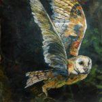 'Owl in Flight' Cushion