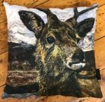 'Young Stag' Cushion