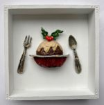 Recycled Art Figgy Pudding