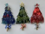 Recycled Art  Christmas Tree Decorations