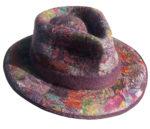 Fedora Hat in Purple