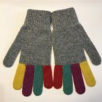 Lambswool Gloves in Flannel