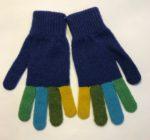 Lambswool Gloves in Klein