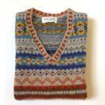 Lambswool Eribe Brodie Vest