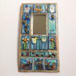 'Cat, Bees, Hen' Mirror