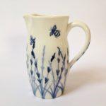Porcelain Jug Bees & Lavender