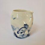 Porcelain Pinch Pourer 'Chickens'
