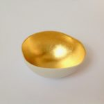 Porcelain Gilded Bowl with Gold