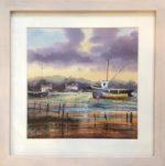 Boats on Aberdovey Estuary