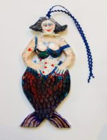 'Mermaid with Pearls' Hang Up