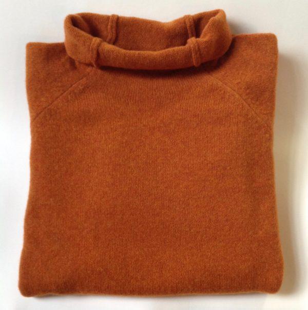 Mens Corry Raglan Pullover in Oxide