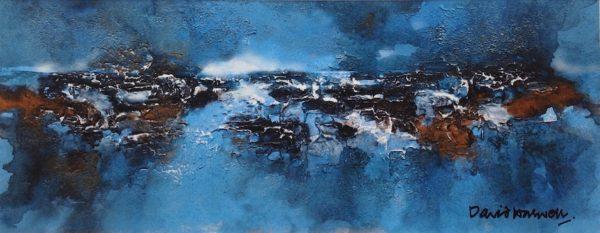 Blue Imagined Landscape