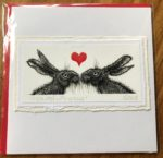Handmade Valentine's Card 'It Started with a Kiss'