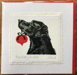 Handmade Valentine's Card 'Hopelessly Devoted'