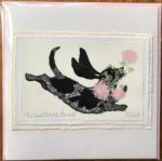 Handmade Valentine's Card 'Love Struck Hound'