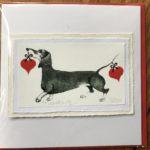 Handmade Valentine's Card 'Two Hearts...'