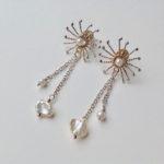 Small Sunstar Stud Earrings