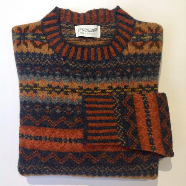 Lambswool Eribe Brodie Sweater