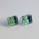 Acrylic Tiny Square Block Studs