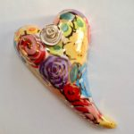 Curly Wall Hanging Heart