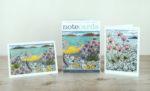 'Note Cards –Pebble Shore & Sea Pinks, Island Shore