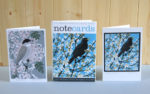 'Note Cards - Blackthorn Blackbird & May Blackcap
