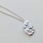 Silver Kimana Pendant Large