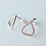 Silver Wing Studs Small