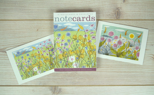 Note Cards Machair & Plantain and Thrift