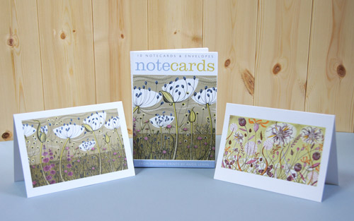 Note Cards -Agapanthus & Autumn Spey