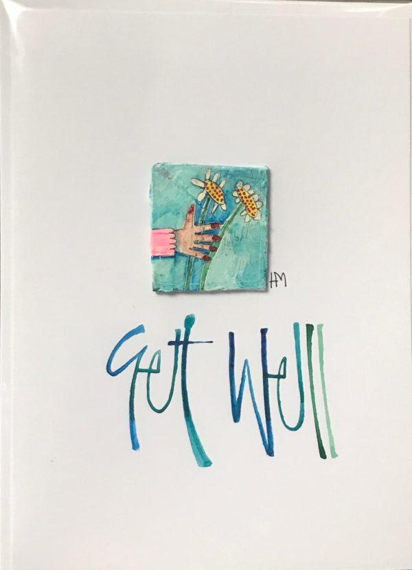 'Get Well' Handmade Card