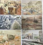 6 Assorted Eric Ravilious Greetings Cards
