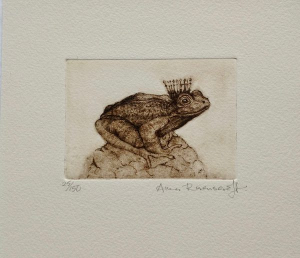 'Frog Prince' Etching