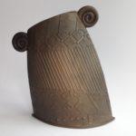 Textured Terracotta Vessel 4