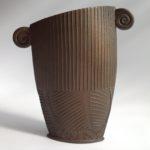Textured Terracotta Vessel 6