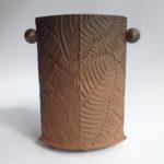 Textured Terracotta Vessel 7