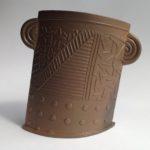 Textured Terracotta Vessel 8