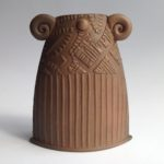 Textured Terracotta Vessel 9