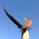 Red Kite Garden Sculpture