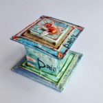 Papier-Mache Daisy Box