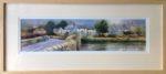 'Clun Bridge' Original Watercolour