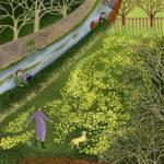 Her Famous Primrose Garden