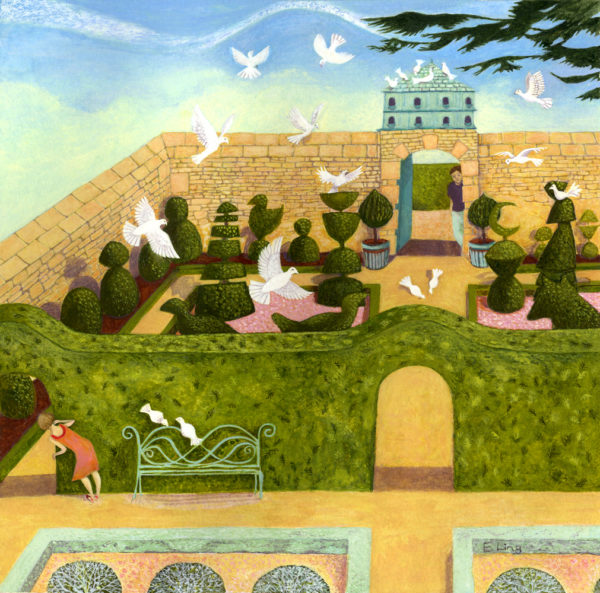 Doves do Furnish a Garden