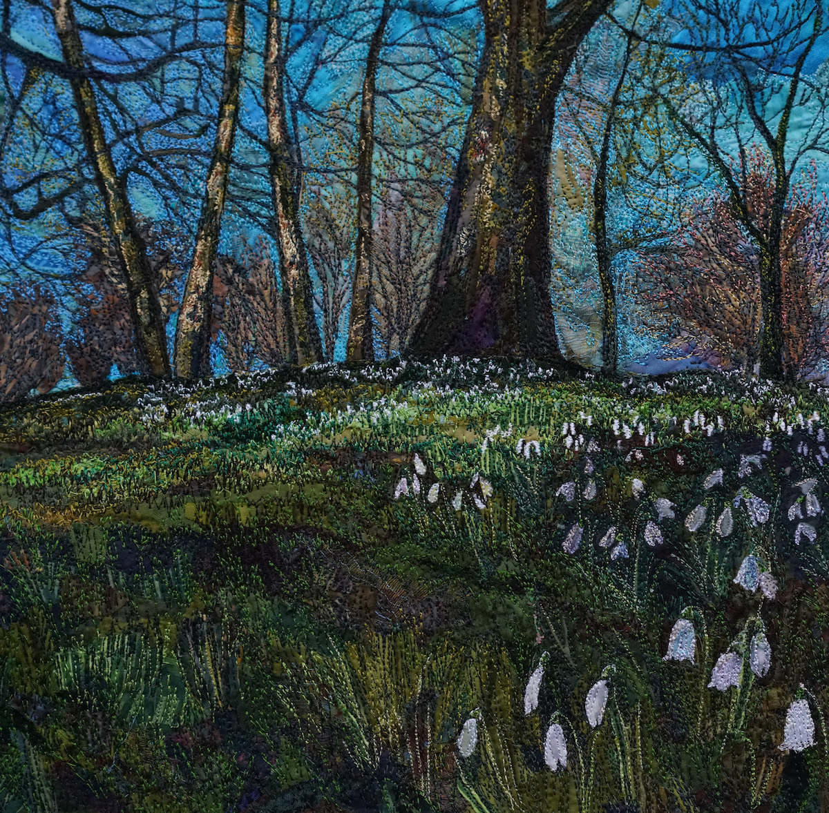 """"""" Snowdrops in the Spring Sunshine"""""""