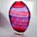 'Joom' Glass Vase Pink