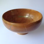 Cherry Bowl with Gold